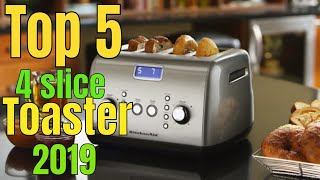 Toaster: Best 4 slice toasters 2019 buying guide