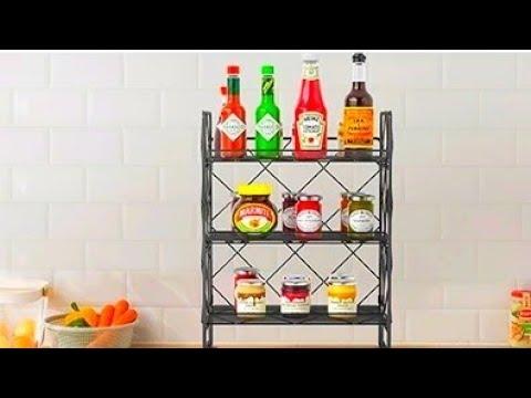 Винтажная металлическая полка органайзер Homefavor Vintage metal shelf organizer