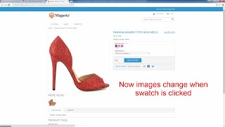 Make Configurable Product Image Change When Magento Swatch Is Clicked