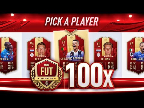100+ RED PLAYER PICKS PACKS! FIFA 19 Ultimate Team