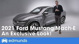 Electric Ford Mustang SUV - Ford Mach-E Reveal & Details