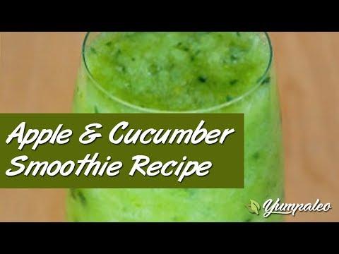 Video Apple & Cucumber Smoothie Recipe