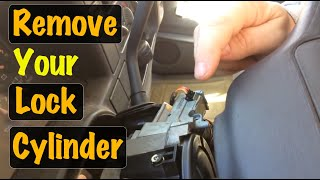 1995 96 97 98 99 GM Truck Ignition Lock Cylinder Removal (Chevy Cadillac & GMC)