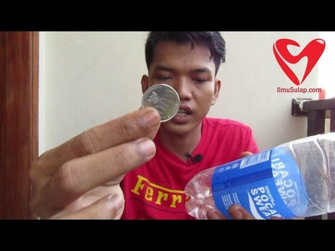 Video Ilmu Sulap Gratis - Koin Menembus Botol