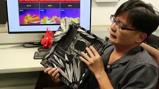 板廠沒有說的祕密:CPU/PCI-E供電的走法.電源供應器要注意什麼?