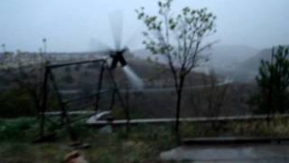 preview picture of video 'Aerogenerador Villalbilla'