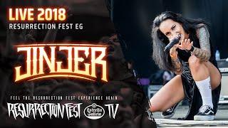 JINJER – Resurrection Fest 2018