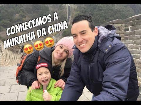 FOMOS NA MURALHA DA CHINA