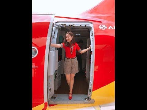 Review tuyển dụng tiếp viên hàng không Vietjet