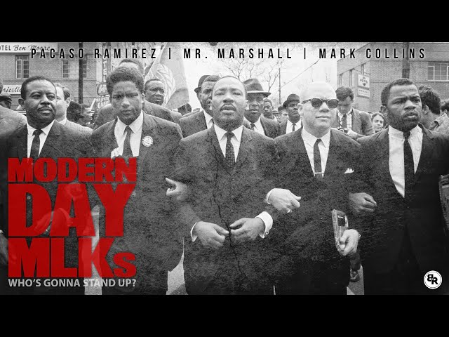 Modern Day MLK's feat. Pacaso Ramirez, Mr. Marshall & Mark Collins [Lyric Video]