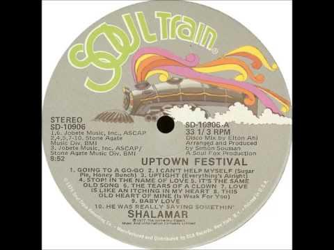 "Shalamar - Uptown Festival 12"""