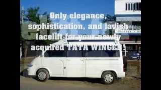 TATA WINGER MODIFIED,modified van , winger,modified car