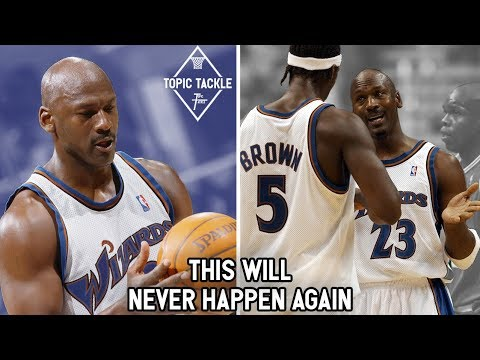 How Michael Jordan Attempted to Do Something NEVER DONE in NBA History by Playing for the Wizards!