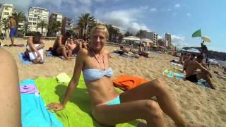 preview picture of video 'Lloret de Mar - Dłuuuuugi weekend we dwoje (bez dzieci :-))'