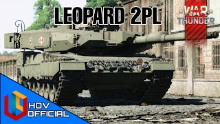 War Thunder   The Polish LEOPARD 2PL Ground Realistic Battle Gameplay   1440p 60FPS