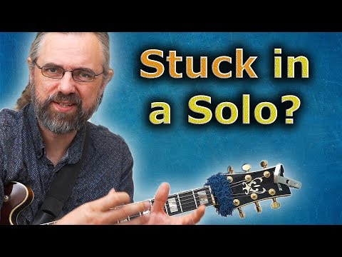 5 Quick Tips When You Are Stuck In A Jazz Solo