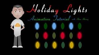 CSS Holiday Christmas Lights Animation Tutorial CSS JavaScript
