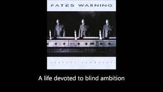 Fates Warning - Nothing Left To Say (Lyrics)