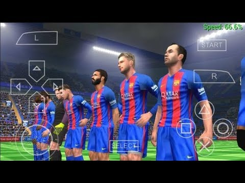 how to download pes 2017 on android PPSSPP high compressed FOR FREE!! by: cloudxgamer