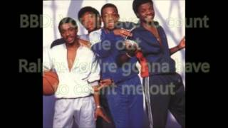 New Edition - Count Me Out Lyrics