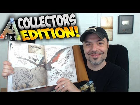 Ark Survival Evolved - Collector's Edition Unboxing