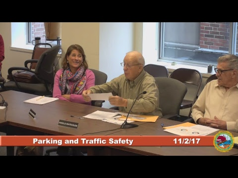 Parking and Traffic Safety Committee 11.2.2017
