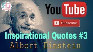 Inspirational Video (Quotes) #3 | Motivational Video | Albert Einstein | Fun Grave