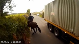 Dangers faced by horse riders using the roads - March 2017