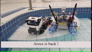 Rescue Mission Lego Technic 42043 Mercedes-Benz Arocs 3245 MOD #16 4K Quality