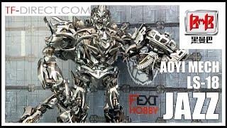 Aoyi Mech Bmb Ls-18 Transformers Movie Masterpiece Series Mpm-9 Jazz