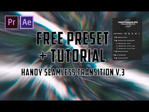 Download and Install Handy Seamless Transition For Premiere