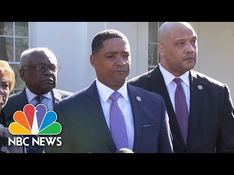 Black Caucus Answers President Trump's 'What Do You Have to Lose' Question | NBC News