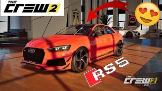 Download The Crew 2 custom test Audi rs5 Youtube to MP3 MP4 MKV
