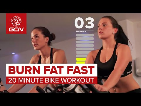 Burn Fat Fast: 20 Minute Bike Workout