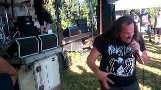 Video Průmyslová Smrt - Live @ Summer moshpit párty # 2 , Věžnička 31.