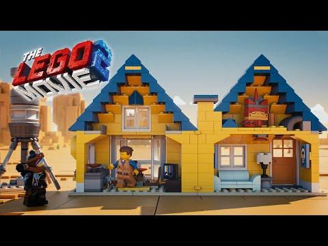 Vidéo LEGO The LEGO Movie 70831 : La maison-fusée d'Emmet !