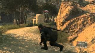 METAL GEAR SOLID V: THE PHANTOM PAIN - Knocking Quiet out