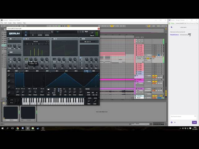 HOW TO MAKE A FUTURE BASS REMIX IN 3 HOURS!!! - Ableton Live 9 Live Stream Tutorial