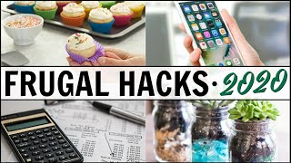 🎉BEST + ULTIMATE Frugal Living Tips + Hacks 🔥That Can Save You THOUSANDS Of DOLLARS! 2020