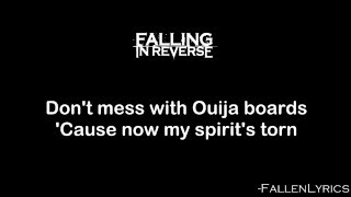 Falling In Reverse - Don't Mess With Ouija Boards [Lyric Video] [HD]