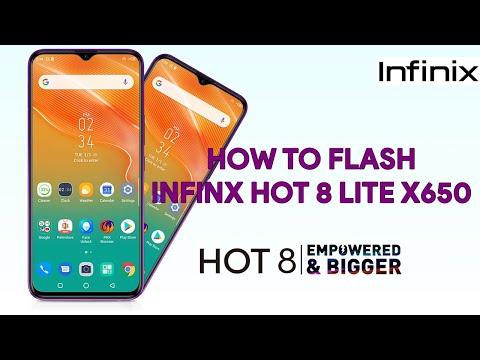 How To Flash Infinix Hot 8 Lite X650 - [romshillzz]