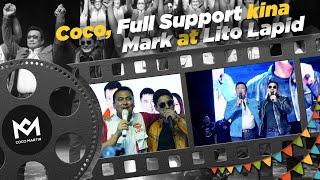 Coco Martin Full Support Kina Mark Lapid At Lito Lapid