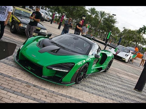 300+ Supercars Arriving to Exotic Car Toy Rally 2018 Pagani Huayra L'Ultimo McLaren Senna & More