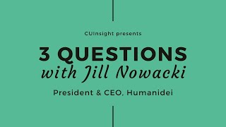 3 questions with Humanidei's Jill Nowacki