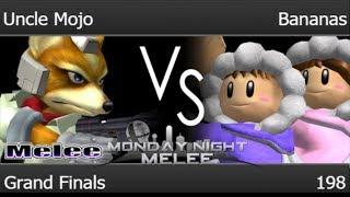 MNM 198 - FX | Uncle Mojo (Fox) vs MB | Bananas (ICs) Grand Finals - Melee