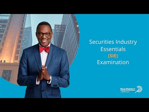 How to Pass the Securities Industry Essential (SIE) Examination ...