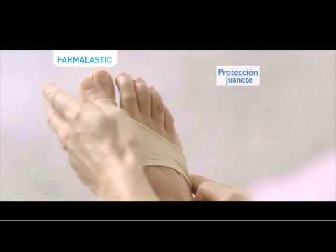 การเจริญเติบโตบนส้นเท้าและนิ้วเท้า