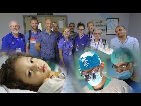 International Cardiac Surgery Team Help Save Gaza's Children