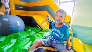 Fun for Kids at Børnenes Eventyrfabrik Indoor Playground