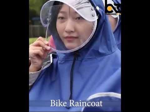 Bike Raincoat Unisex Double Bike